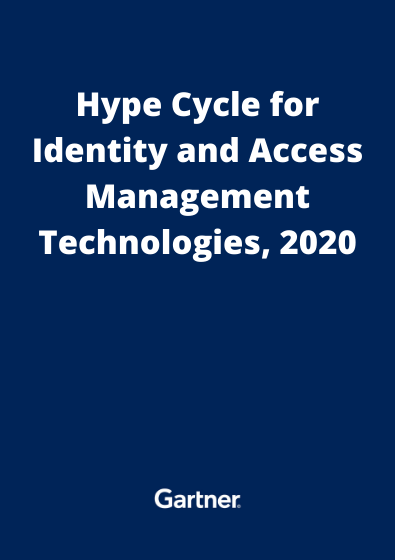 Hype Cycle for Identity and Access Management Technologies, 2020