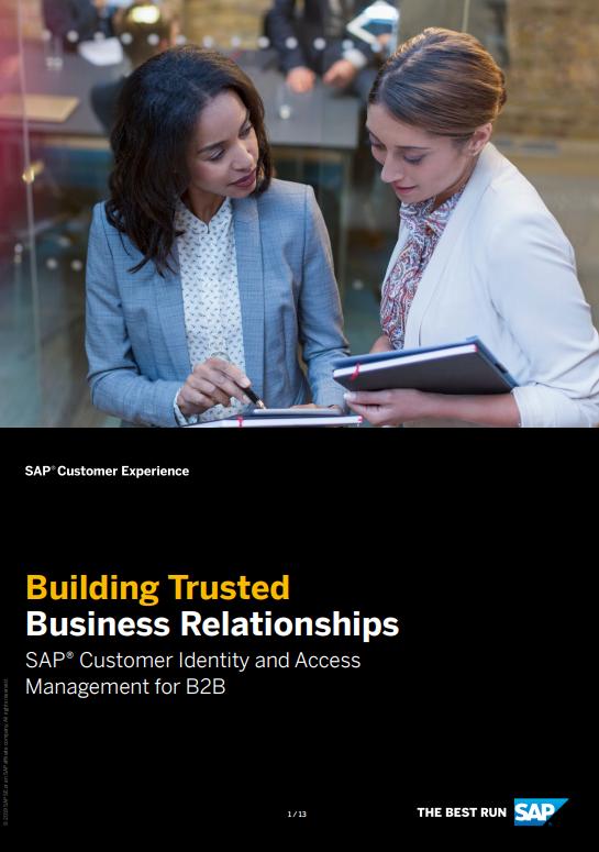 SAP IAM B2B